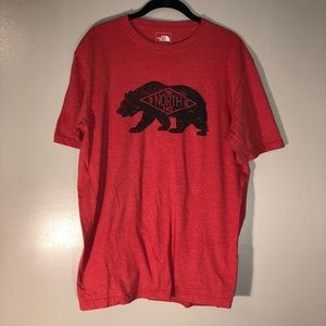 Men's The North Face Red Bear Tee | Size Medium